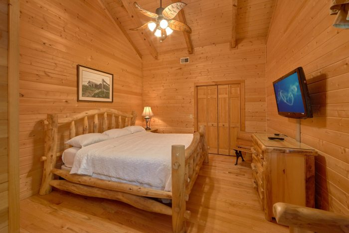 2 Bedroom cabin with a Queen bed - Mountain Glory
