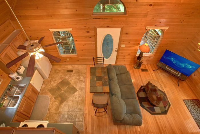 Spacious 1 Bedroom Cabin with Loft - Mountain Laurel