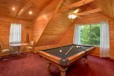 Gatlinburg Cabin with Pool Table and Loft