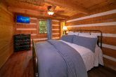 Queen Bedroom in Cozy 2 Bedroom Cabin