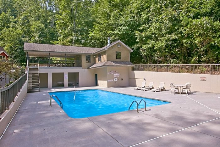 1 Bedroom Cabin with Resort Pool Access - Mountain Star