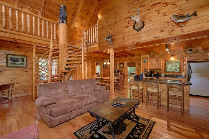 3 Bedroom Cabin with 3 Bathrooms - Mountain Valley Dreams