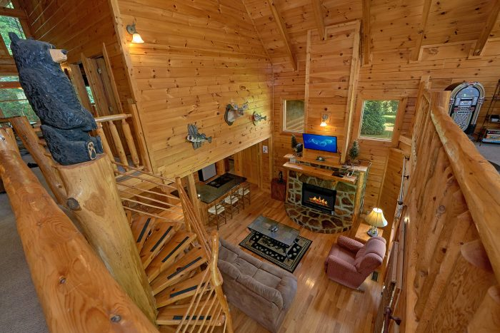 3 Bedroom Cabin with 2 Levels - Mountain Valley Dreams