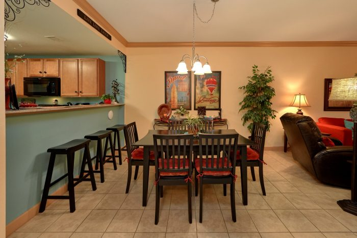 Luxury Condo in Pigeon Forge with Dining Room - Mountain View 5102
