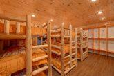 8 Bedroom Cabin with a Bunk Bed Locker Room