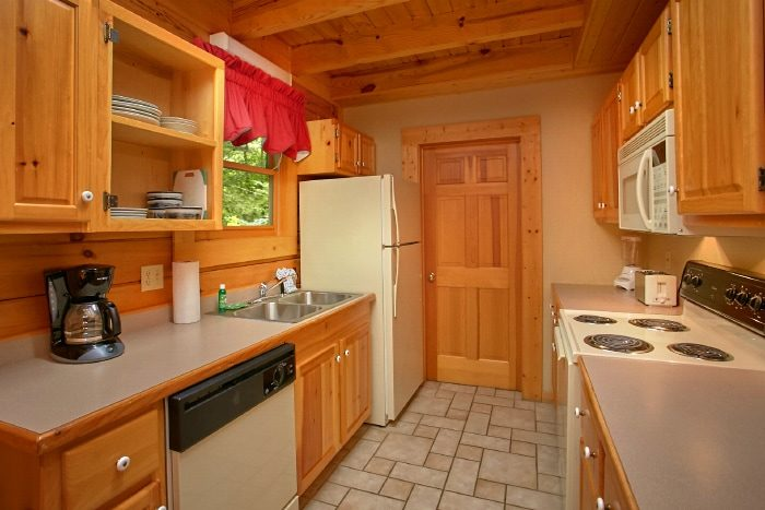 1 Bedroom Cabin with a Full Size Kitchen - Mtn Dreams