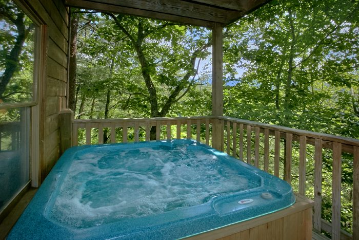 Rustic 2 Bedroom Cabin with Private Hot Tub - Mtn Memories- Kimbles