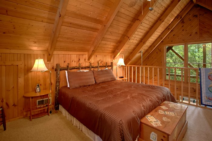 Cabin with Queen Bedroom and Private Bath - Mountain Retreat Kimbles
