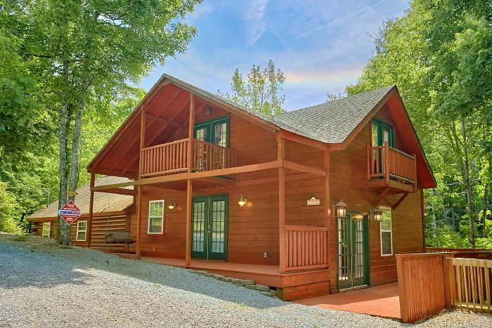 3 bedroom cabin near pigeon forge and wears valley