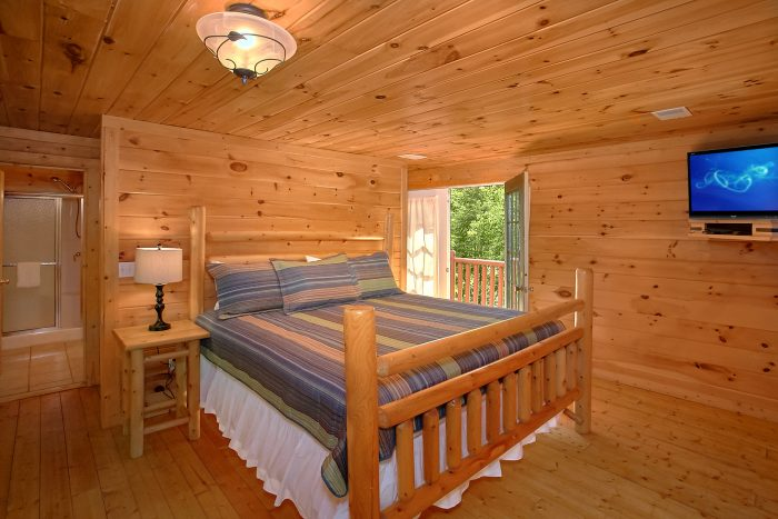 4 Bedroom cabin with Private King Suite - Natures Dream