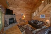 Premium 2 Bedroom Cabin with Stone Fireplace