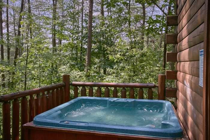 2 Bedroom cabin with Secluded Hot Tub - Nice N Knotty