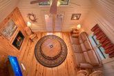 Cabin with fireplace and private deck