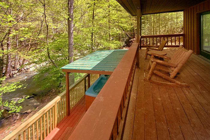 Rustic Cabin with a Creekside View - On the Creek