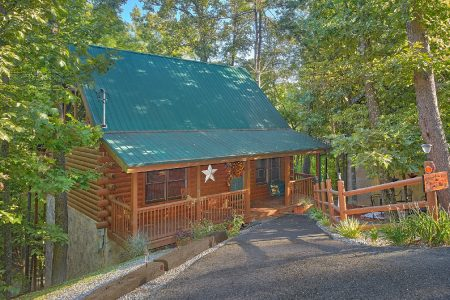 Kisses & Wishes: 1 Bedroom Sevierville Cabin Rental