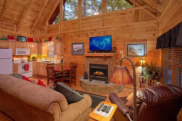 ... 1 Bedroom Cabin In Pigeon Forge Near Dollywood   Our Happy Place ...