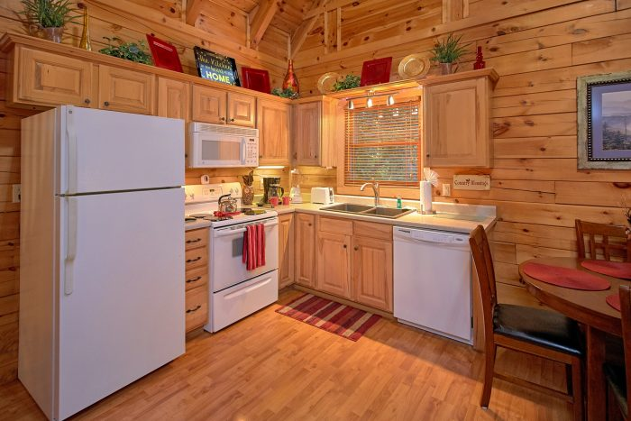 1 Bedroom Cabin with a Fully Stocked Kitchen - Our Happy Place