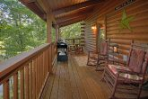 Cabin with a Table on the Deck