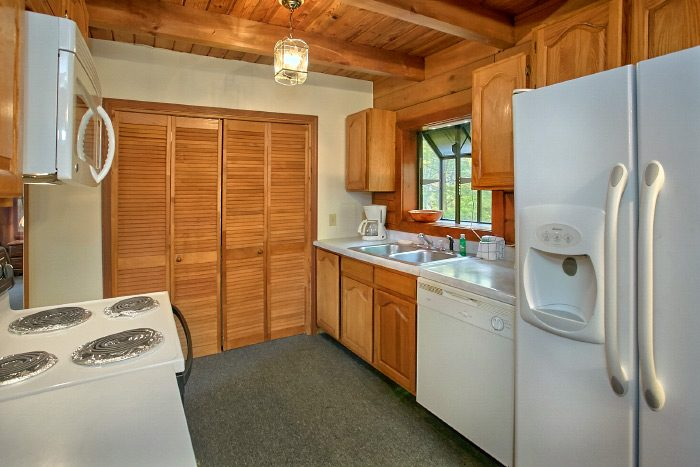 Cabin with full kitchen and 3 bedrooms - Owl's Mountain View