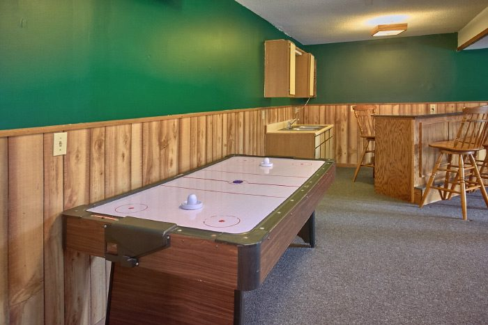 Cabin with Air Hockey Game and Game Room - Owl's Mountain View