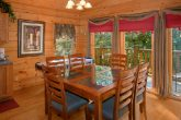 2 Bedroom Cabin with Dining Table for 6 and View