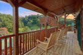 7 Bedroom cabin overlooking resort pool