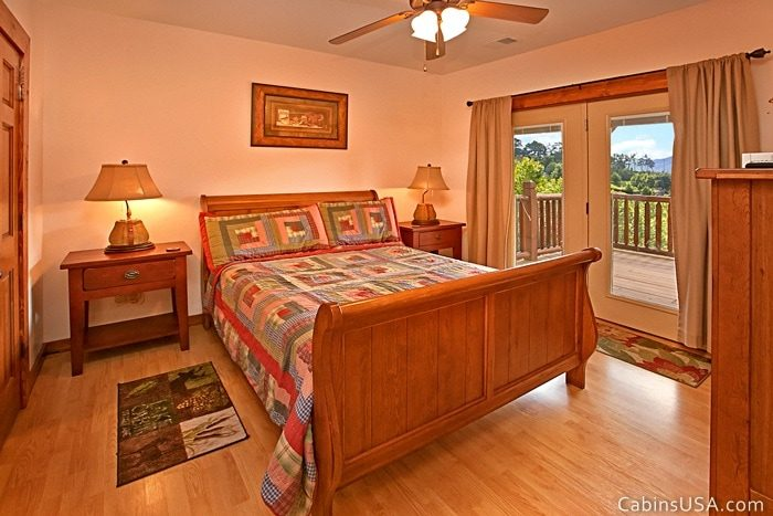 Bottom Level Queen Bed - R & R