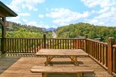 Great Picnic Table on Deck