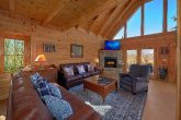 Spacious Living Room Gatlinburg Cabin