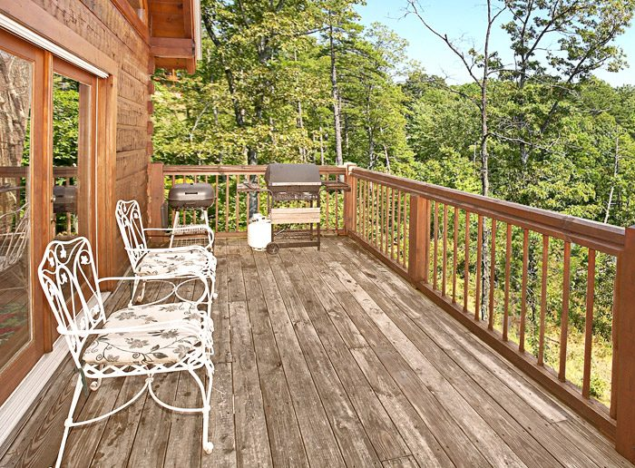 Deck with Wooded View - Rare Breed