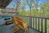 Pigeon Forge Cabin with Hot Tub Sleeps 6