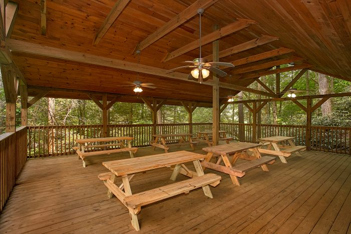 Cabin with Resort PIcnic Area and Swimming Pool - Reclusive Moose