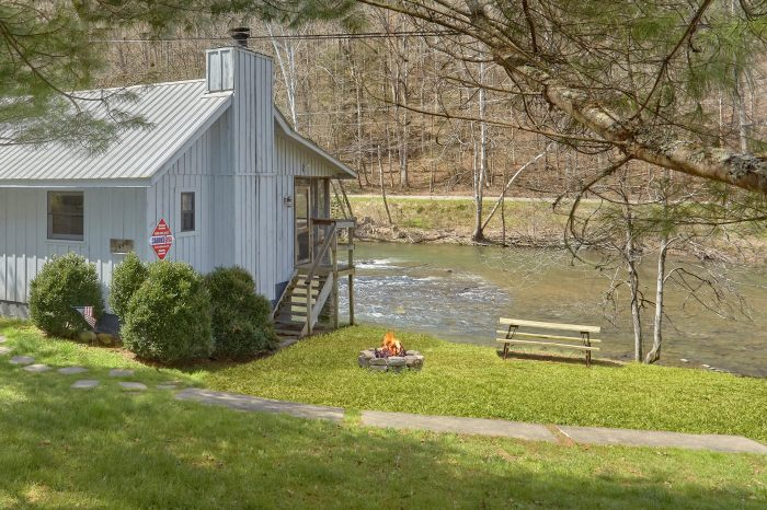 1 Bedroom Cabin on the Little Pigeon River - River Cabin