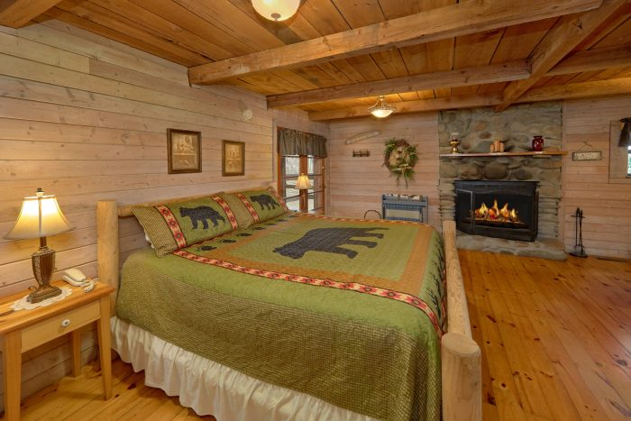 Affordable 1 Bedroom Cabin with Wood Fireplace - River Cabin