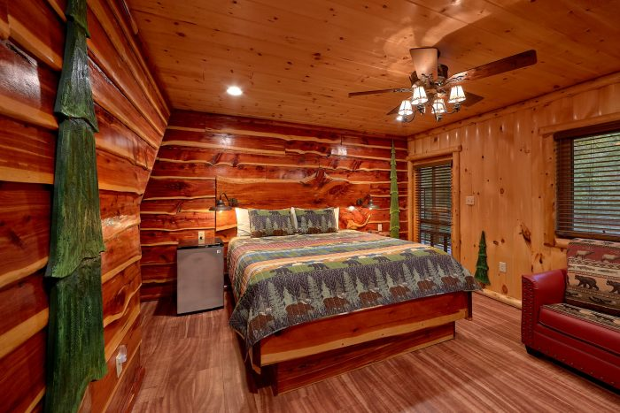 3 Bedroom Cabin with 2 King and Queen Bedroom - River Paradise