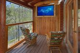 2 Bedroom Cabin On River with TV On Deck