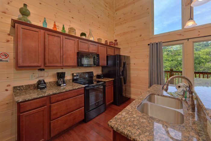 2 Bedroom Luxury Cabin Indoor Pool - Scenic Mountain Pool