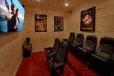 Theater Room 2 Bedroom Cabin Sleeps 6