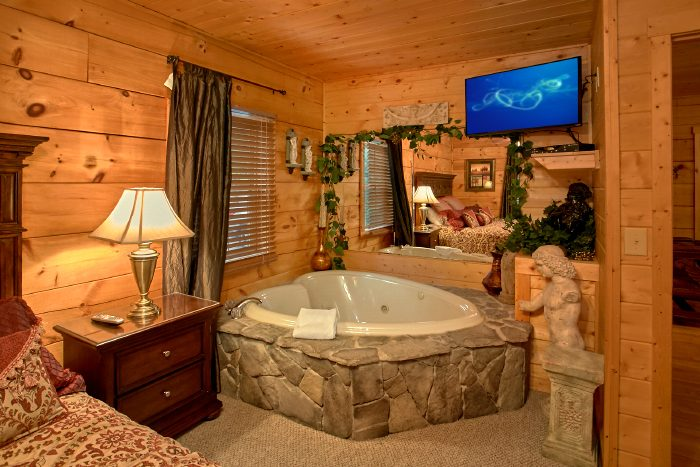 Luxury Cabin Near Dollywood With Private Indoor Pool