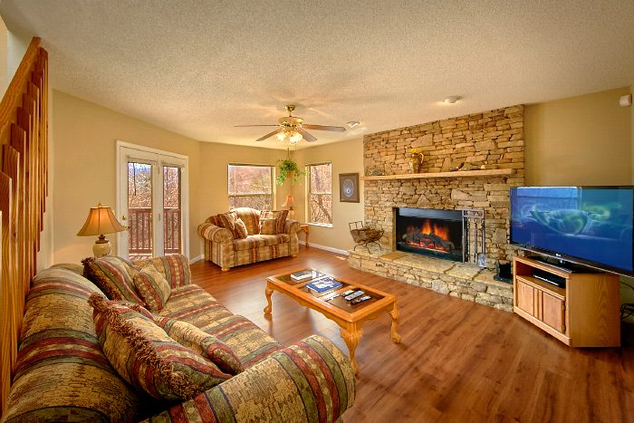 3 Bedroom Gatlinburg Cabin with Fireplace - Second Glance