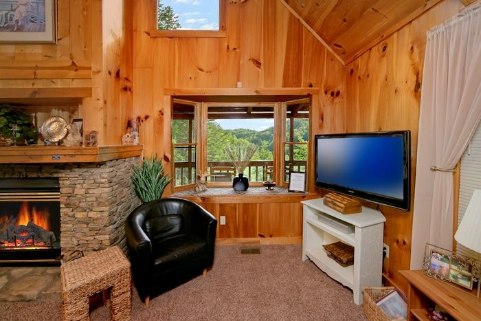 Rustic 1 Bedroom Cabin Fully Furnished - Serenity Ridge
