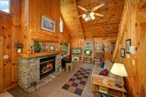 1 Bedroom Cabin with a Living Room Fireplace