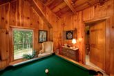 Smoky Mountain Cabin Rental with Pool Table