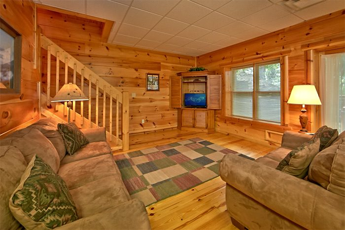 5 bedroom cabin with 2 living areas - Shoot the Moon