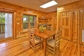 Cabin with kitchenette and extra dining room
