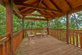 Cabin with private deck and wooded view