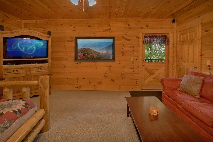 4 Bedroom Cabin with AIr Hockey and Sleeper Sofa - Simply the Smokies