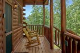 Cabin with Rocking Chairs, Covered Deck and View