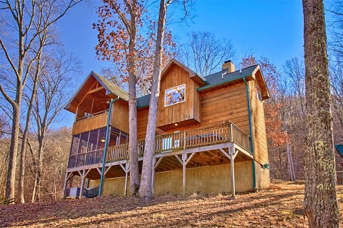 Sky High Hobby Cabin Cabin Rental Photo