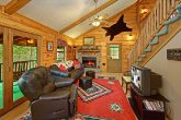 Cabin with Decorated Living Room